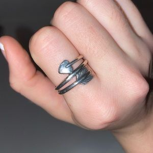 James Avery Heart & Arrow Ring